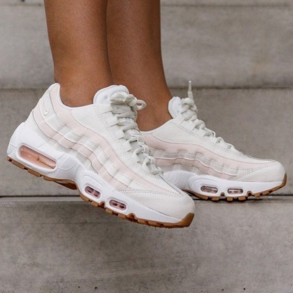 purchase cheap 6341e 4c475 NEW Nike Air Max 95 sail guava ice sneakers sz 6.5